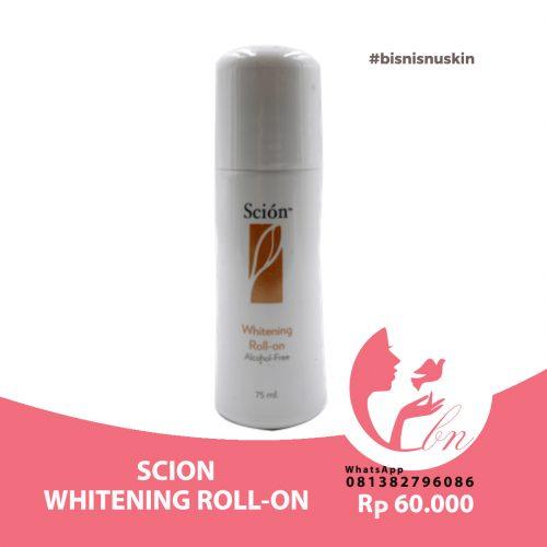 scion whitening roll-on Pemutih Ketiak